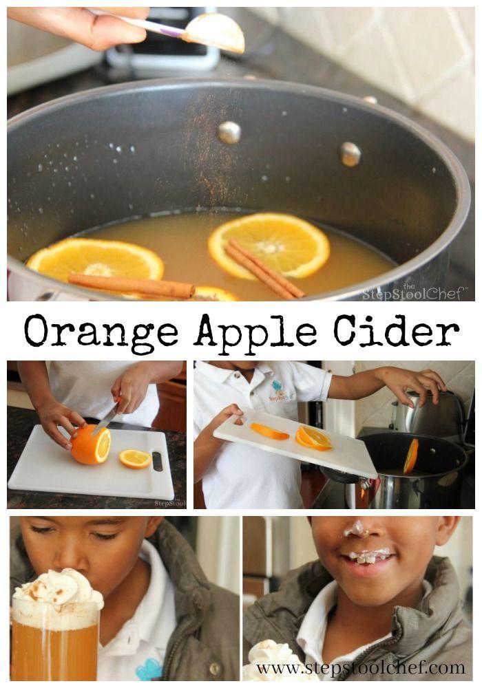 Yummy Orange Apple Cider | The Step Stool Chef