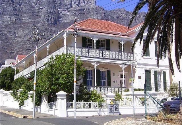 The Gardens suburb, Cape Town, SA