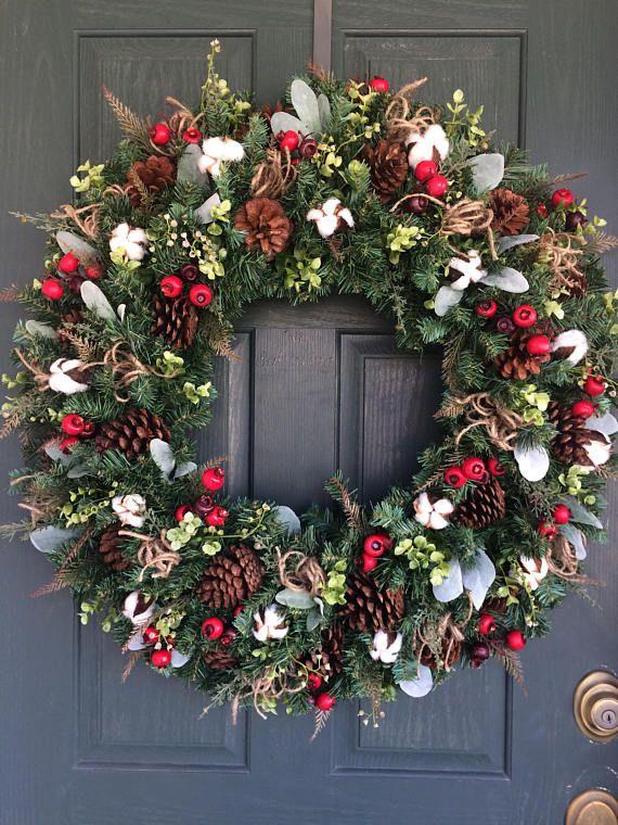 25 Unique Cotton Wreath Ideas On Pinterest Cotton Decor Entryway Decor And Entryway Bench