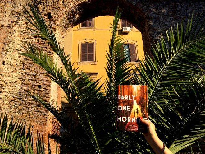 Novel set in ROME : Early One Morning by Virginia Baily http://www.tripfiction.com/novel-set-in-rome-strange-unfathomable-winds-blow-people-one-way-rather/