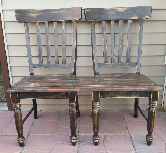 Love These Cube Tables For Patio Or Living Room Made From: Best 25+ Chair Bench Ideas On Pinterest