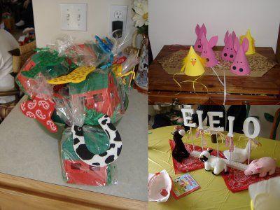 Parties and Pretties: Custom Inspiration Board: Barnyard 1st Birthday Party Ideas