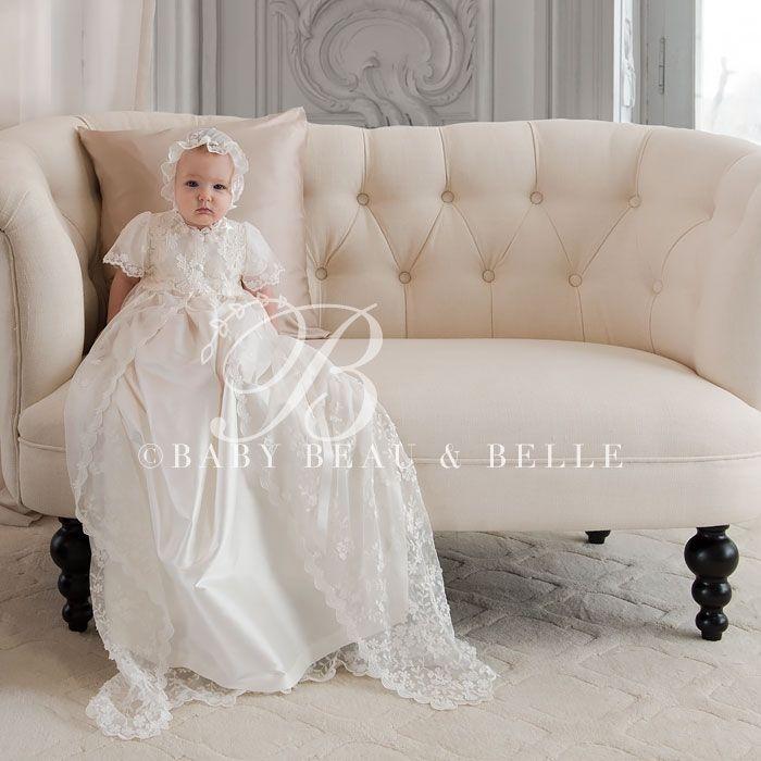 Caroline Christening Gown (Girl) |  Baptism Clothes & Dresses - Fancy Gowns & Dresses
