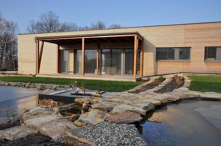 Michael Kocych Architects - Nízkoenergetický dům Frýdek-Místek - pohled ze zahrady - foto © Michael Kocych Architects