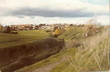 MP 7884. Scotchmans Creek, between Waverley and Warrigal Roads. Photo taken prior to construction of South Eastern Arterial Road Link between Toorak Road and Warrigal Road; 6 October 1983.