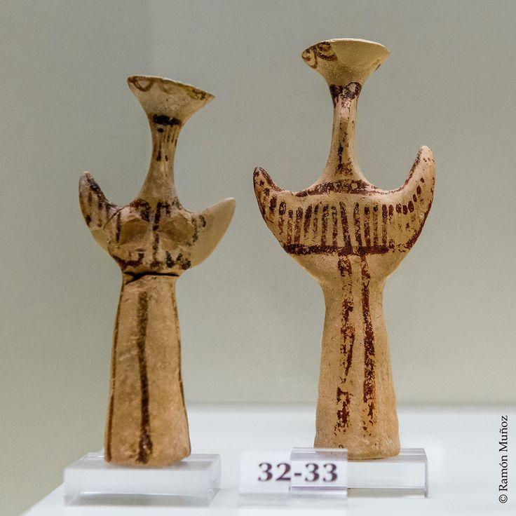 Figuras femeninas tipo Psi, 1300-1180 a. C.,