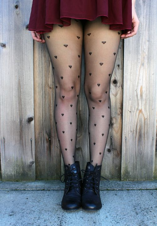 The tights and the boots