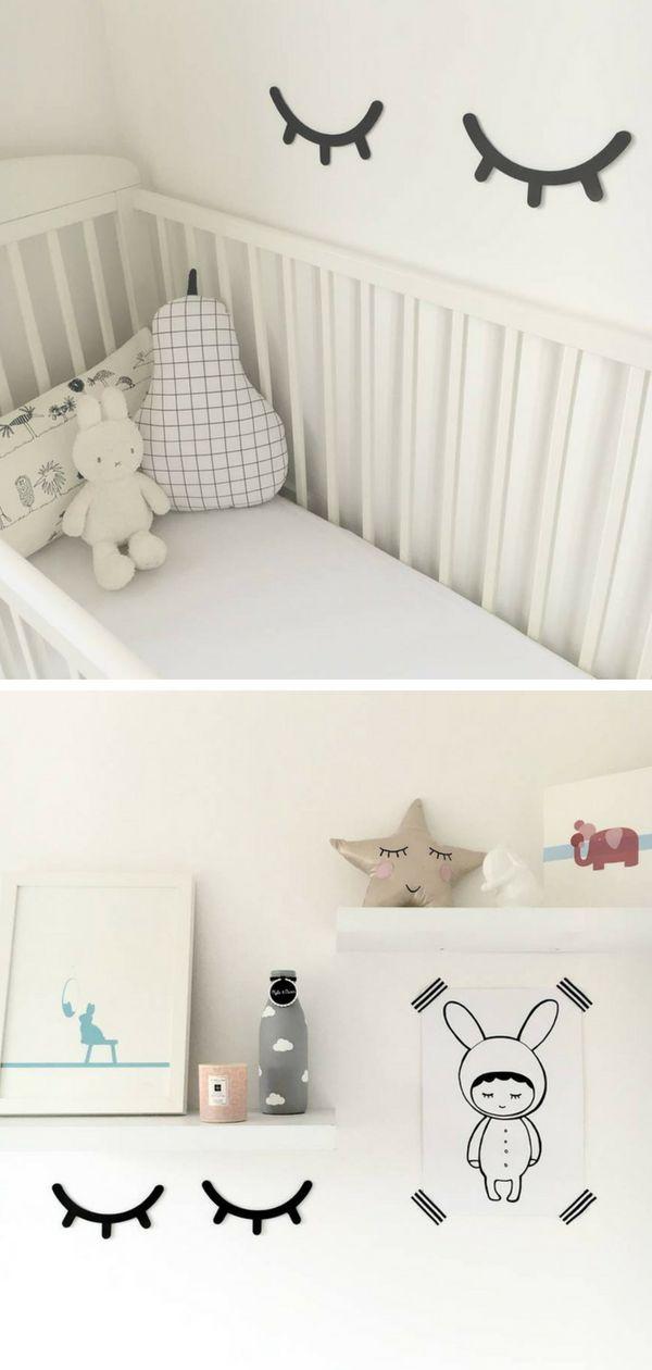 Cute wooden sleepy eye for nursery room, kid's room and small bedroom's wall decor. I really love the idea. Makes the room cozy. #ad #sleepy #eye #nurseryroom #kidsroom #childrensroom #bedroom #walldecor #homedecor #decoration #wood #BedroomHomeDecor