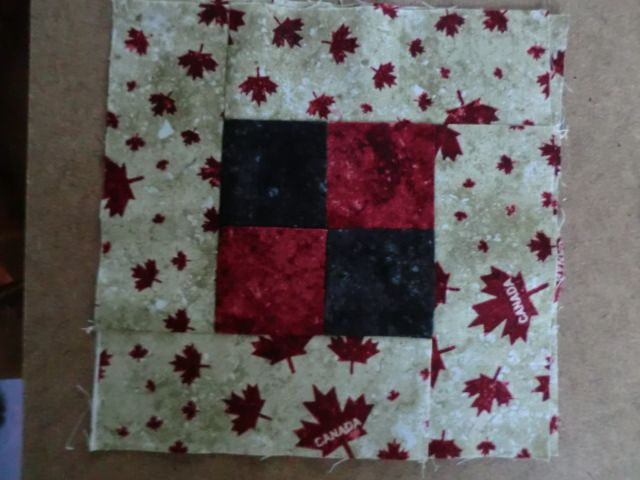 My quilt of valour block 8