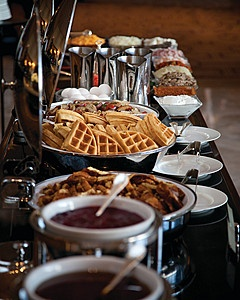 1000 ideas about breakfast buffet table on pinterest for Fish buffet near me