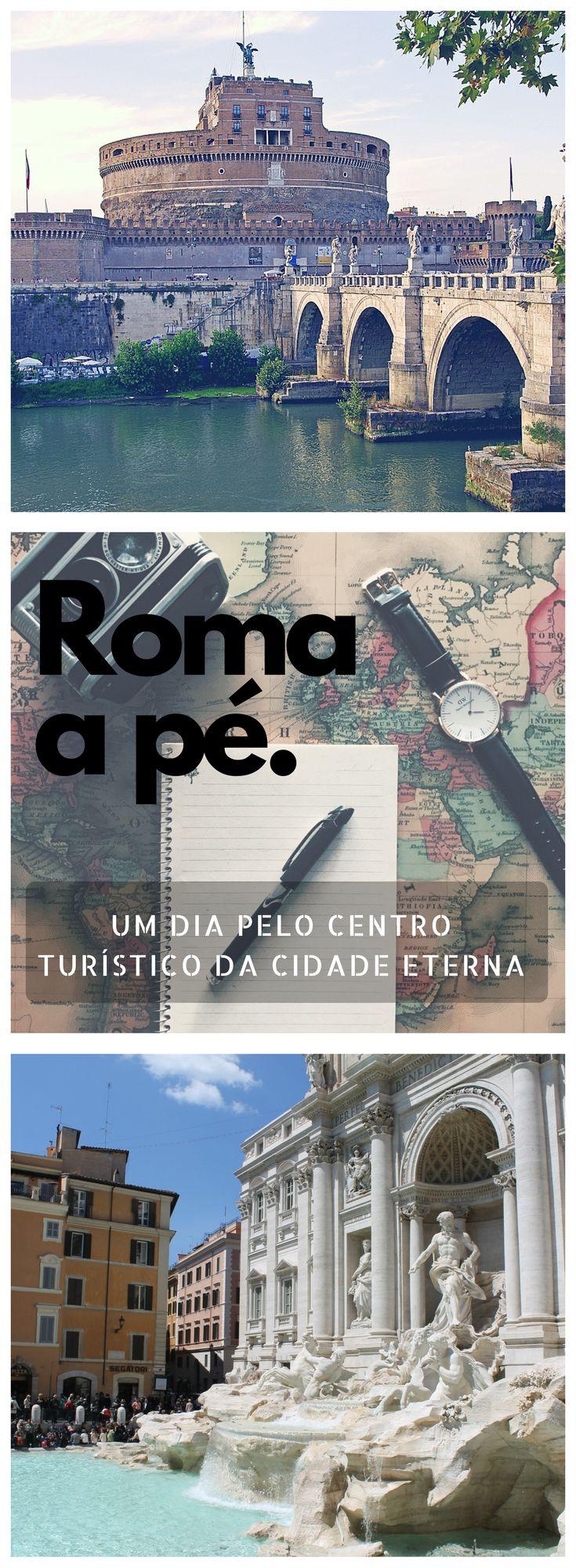 Roteiro de um dia pelo centro turístico de Roma, Itália. Veja as atrações que você não pode deixar de fora do seu roteiro! Fotos 1 e 2: Pixabay.com. Foto 3: Fui Ser Viajante.