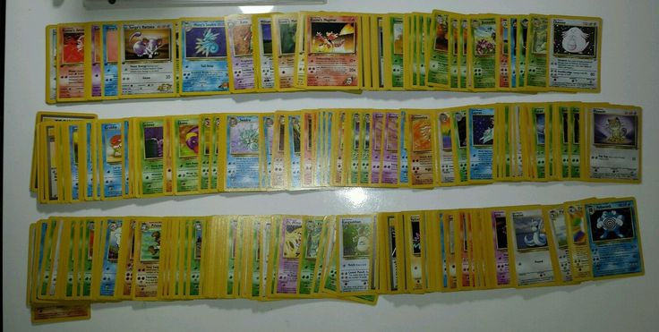 40 Pokemon Card Lot Base Fossil Jungle 1st Edition Rare Only From Cards Pictured