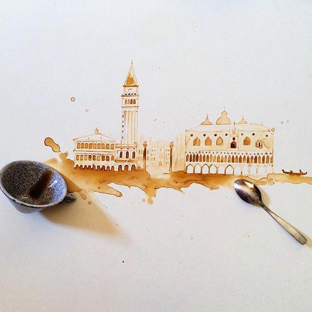 coffee drawings