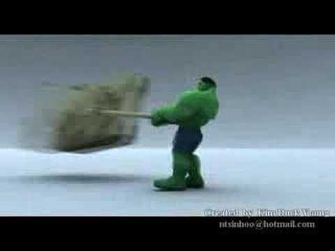 Incredible Hulk Animation Demoreel - YouTube