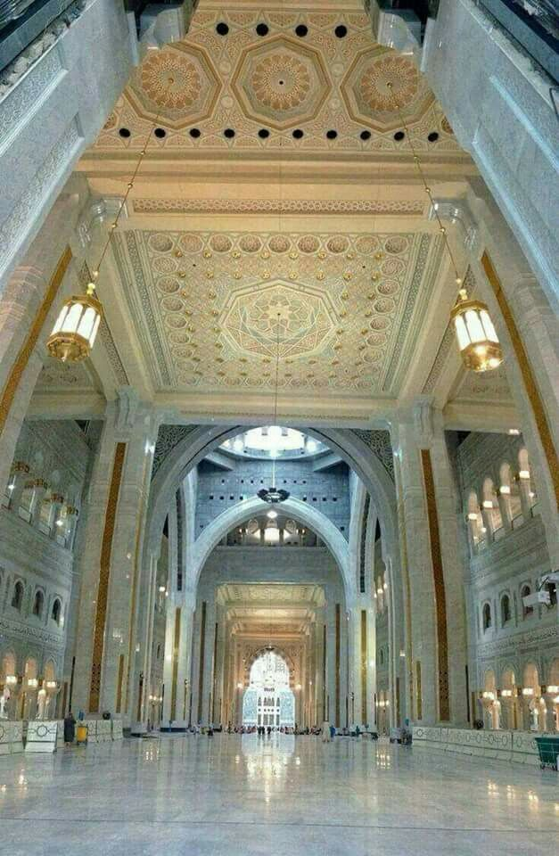 Awesome view inside masjid al Haram # Mecca