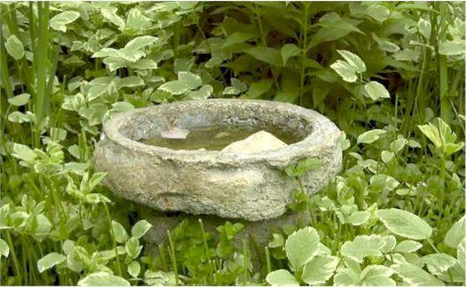 Hypertufa Molds | Concrete Bird Baths | Garden Crafts & Garden Decor