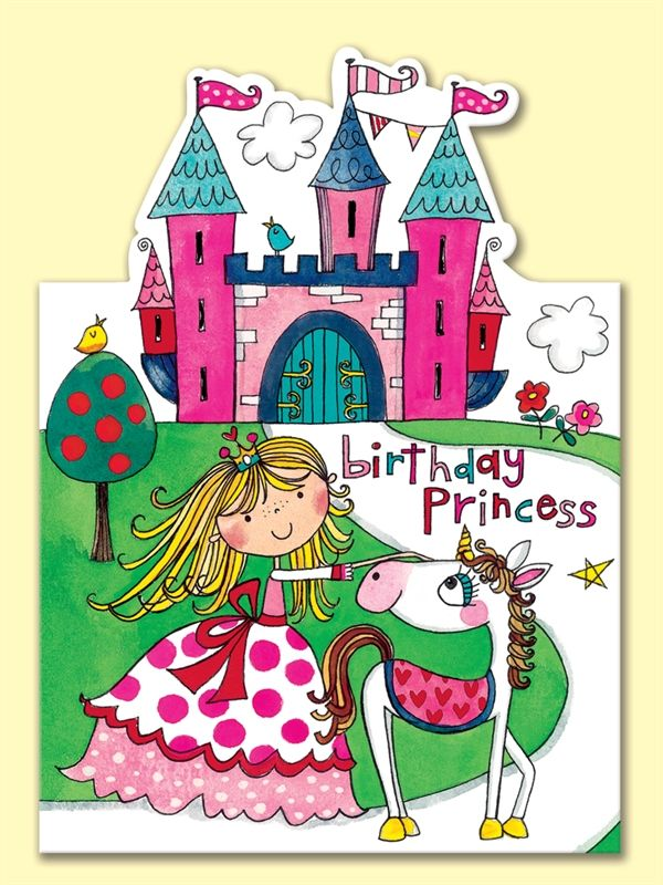 images of children's birthday card | ... : Home | Shop | Cards | Children's Birthday | JEL2 Birthday Princess
