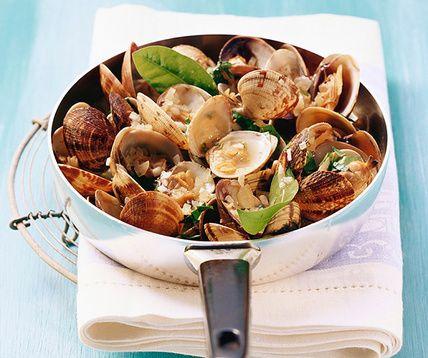 17 meilleures id es propos de palourdes sur pinterest for Cuisiner des palourdes
