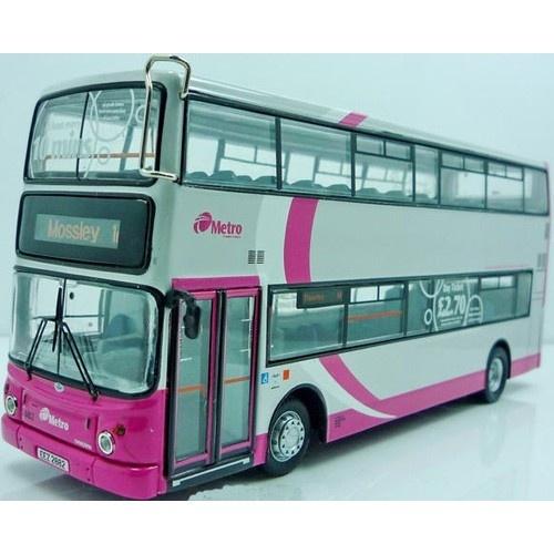 Translink Metro Volvo B7tl Bus Model Double Decker 1 76