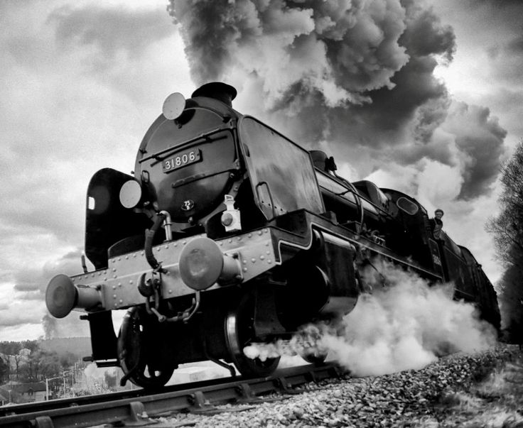 Classic Steam Power by Chris Burgess has won our black and white photo competition!