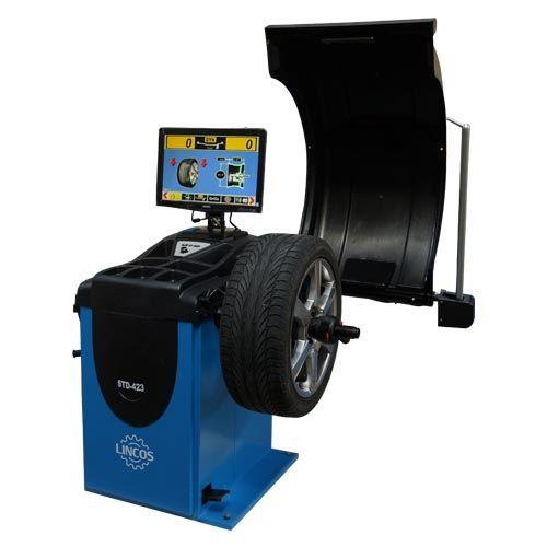 Centírozó, kerékkiegyensúlyozó gép, automata, 3D kijelző