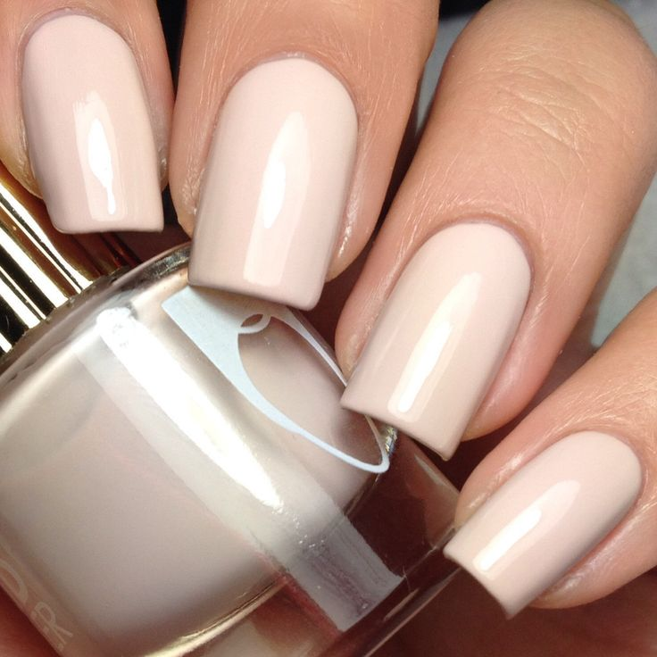 Floss Gloss - Dinge. Could this be the most perfect nude nail polish ?