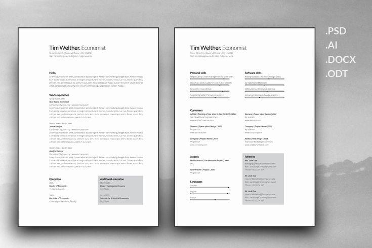 3 Page Resume Portfolio Cover Letter @creativework247 Resume - portfolio cover letter