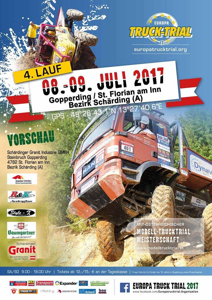 https://flic.kr/p/TqNtFs   EUROPA TRUCK TRIAL 2017   WWW.EUROPATRUCKTRIAL.ORG Truck Trial is a motor sport where it comes to driving trucks or German truck in difficult terrain. You have to maneuver his truck through the previously inserted by the organizers gates with a lot of skill and ability. These goals are not easily accessible, so that it is done to the drivers and their passengers not easy. In the sections that are driven, man and machine are pushed to their limits. The rating takes…