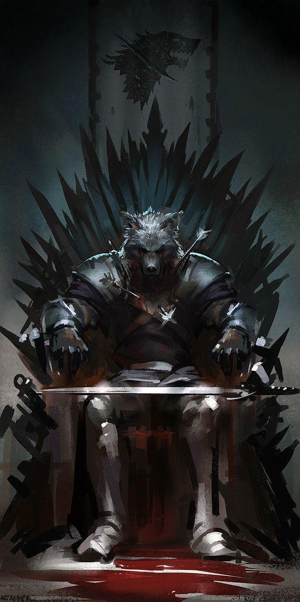 Young Wolf by zippo514.deviantart.com on @deviantART Game of Thrones GRR Martin