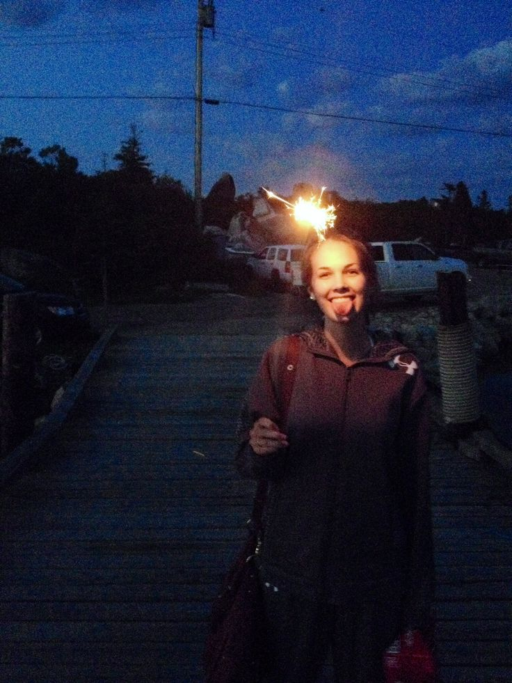 Sparklers and summer nights