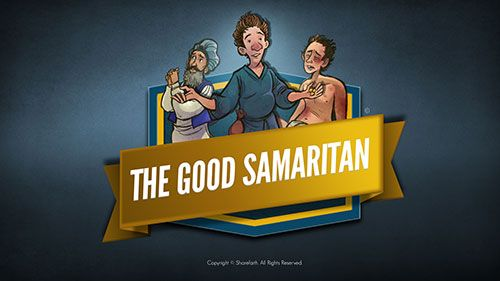Bible Fun For Kids: Parable of the Good Samaritan |The Good Samaritan For Preschoolers