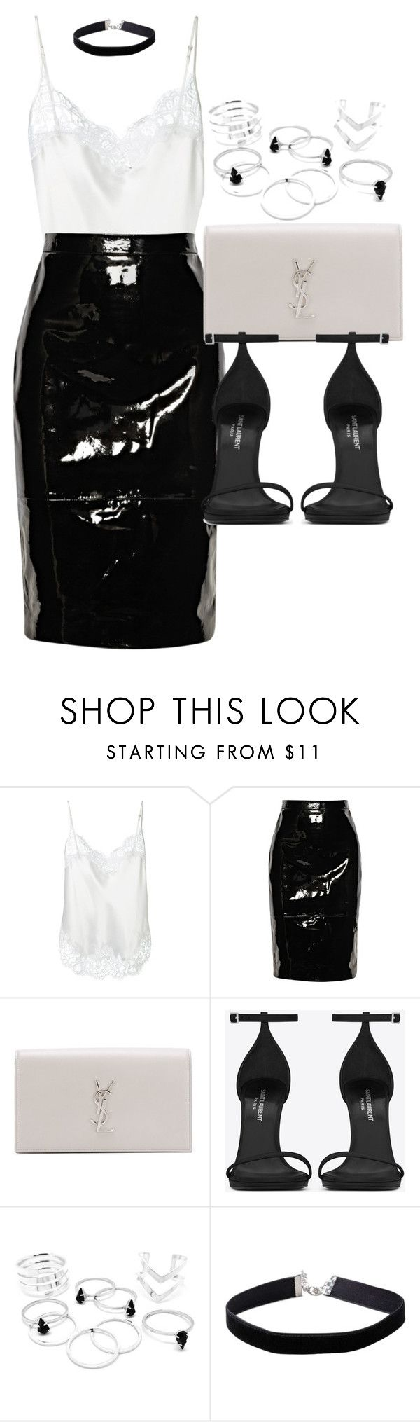 """Style #11273"" by vany-alvarado ❤ liked on Polyvore featuring Givenchy, Yves Saint Laurent and Miss Selfridge"