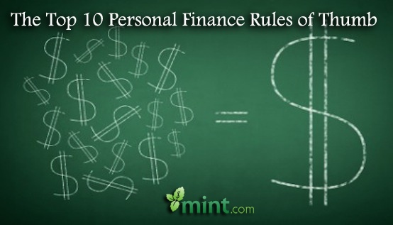 The Top 10 Personal Finance Rules to Live By :: Mint.com/blog