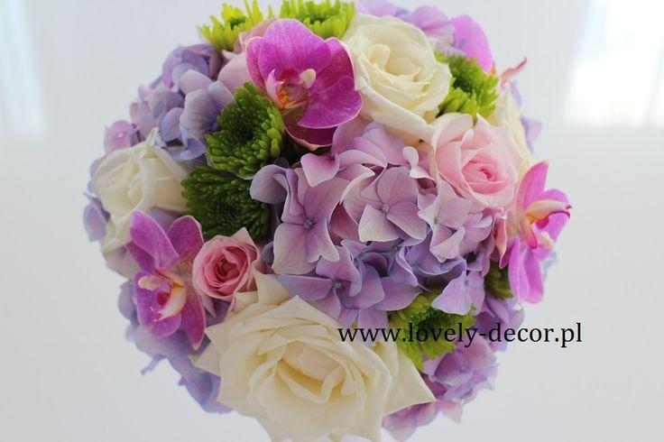Bukiet ślubny - filoet i róż #bukiet #ślub #wedding #róże #roses