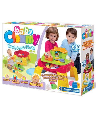 #Clementoni #BabyClemmy #ActivityTable #tavoloattività #parcogiochi #clemmy