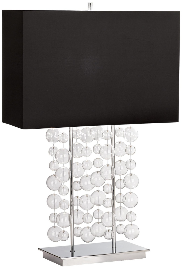 Beautiful Possini Euro Design Bubble Cascade Table Lamp