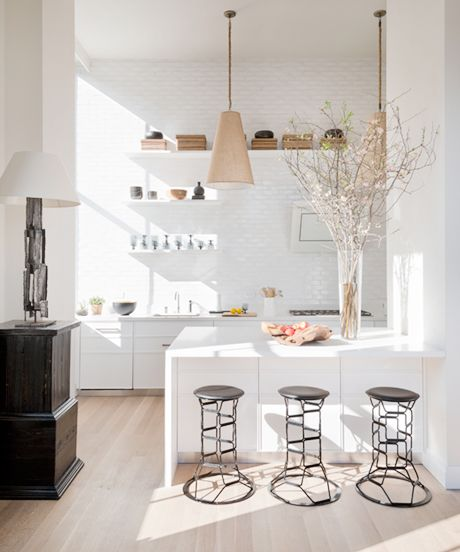 Home Stalking! 30 Cool NY Rooms - eating - kitchen - beautiful
