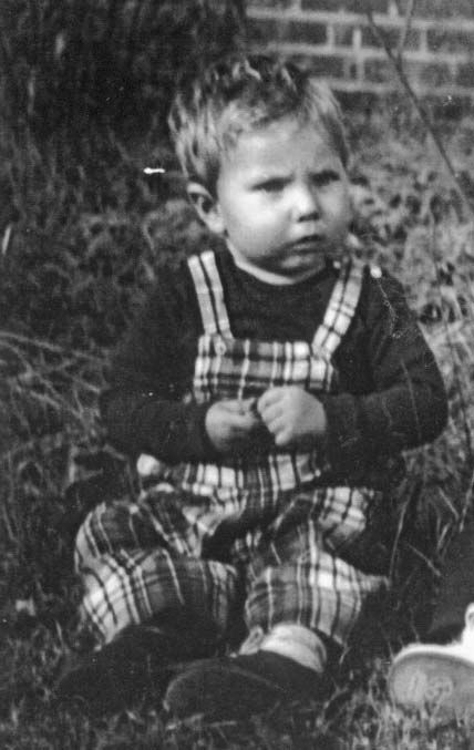 Ralph Dale Earnhardt Sr @ 2yrs of age,  1953 Born: April 29, 1951 - Passed Away: Feb 18, 2001...Good Die Young.
