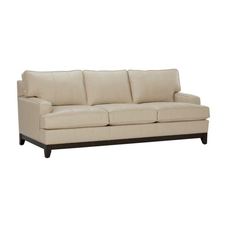 Photo Of Arcata Express Leather Sofa Ethan Allen US