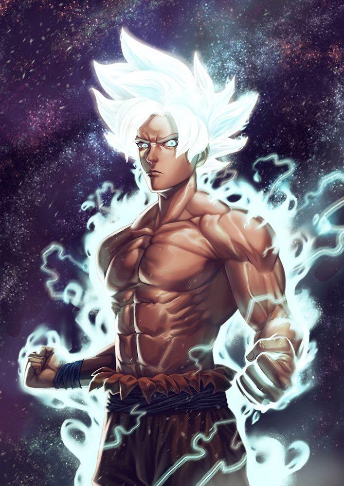 Artstation Son Goku Ultra Instinct Fredrick Runtu Anime Dragon Ball Super Dragon Ball Artwork Dragon Ball Super Manga