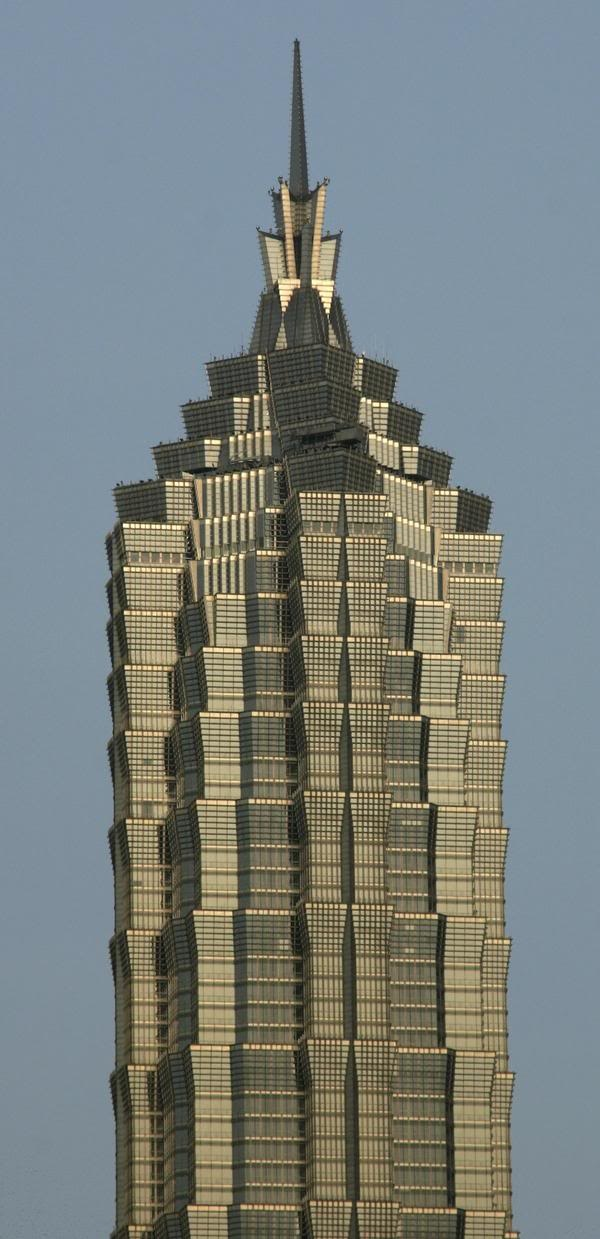 7th tallest building in the world (2013)- Jin Mao Tower l SHANGHAI