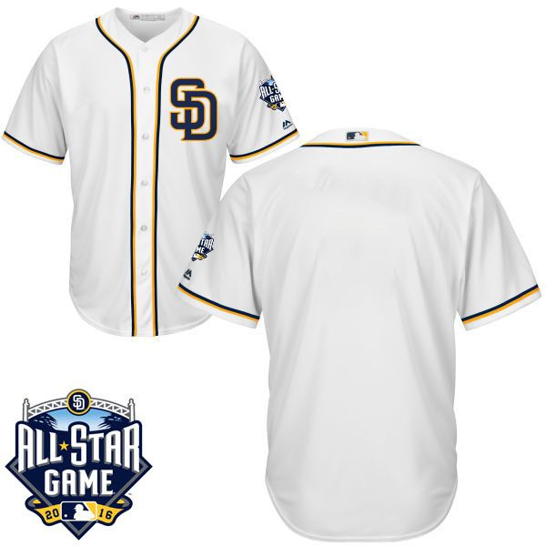uk availability fa5b5 bac39 ... 33 James Shields 46 Craig Kimbrel Padres 2016 All-Star Patch Authentic  Team Jersey ...