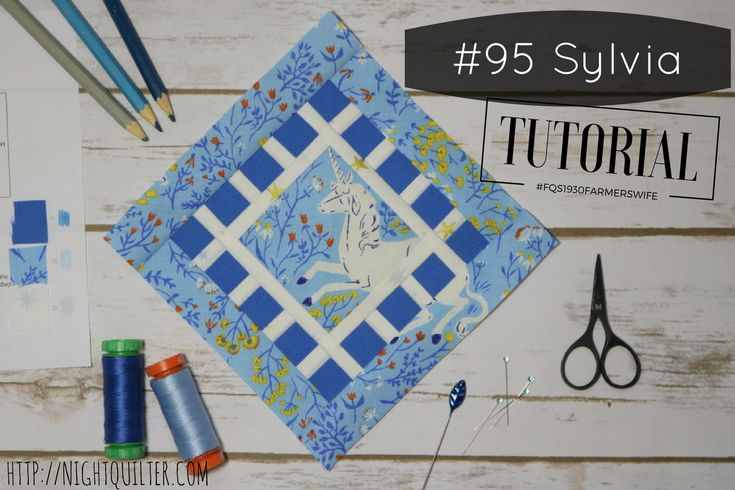 Ahh, remember the Farmer's Wife Sew Along!? Today is my day to share the Block 95 Sylvia tutorial for the 1930 Farmer's Wife Sew Along, hosted by Angie at Gnome Angel and sponsored by Fat Qua…