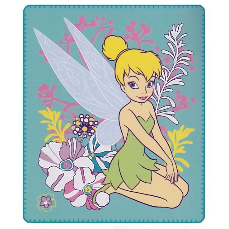 Tinker Bell Pixie Blanket