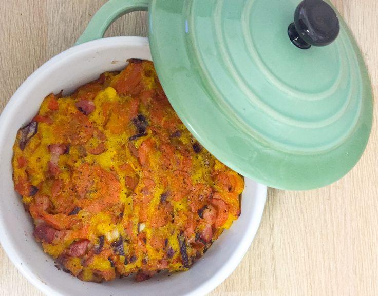 Gratin de carottes et polenta au cumin - Powered by @ultimaterecipe