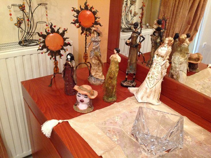 my clay figures
