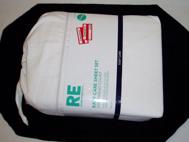 Twin XL Sheet Set - White