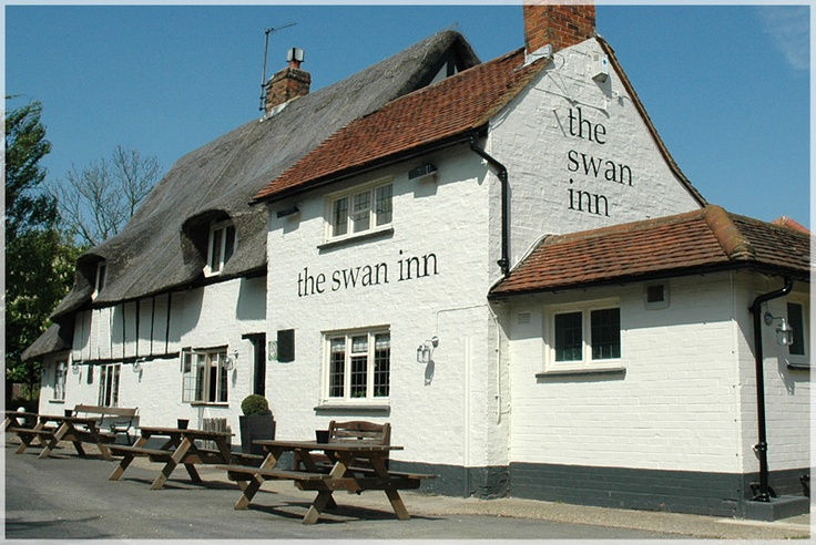 The Swan Inn, Milton Keynes Village, Milton Keynes. A lovely pub with a lovely beer garden in a quiet village. To say that the food was excellent here would be an understatement!