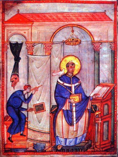 евангелие святого григория из трира