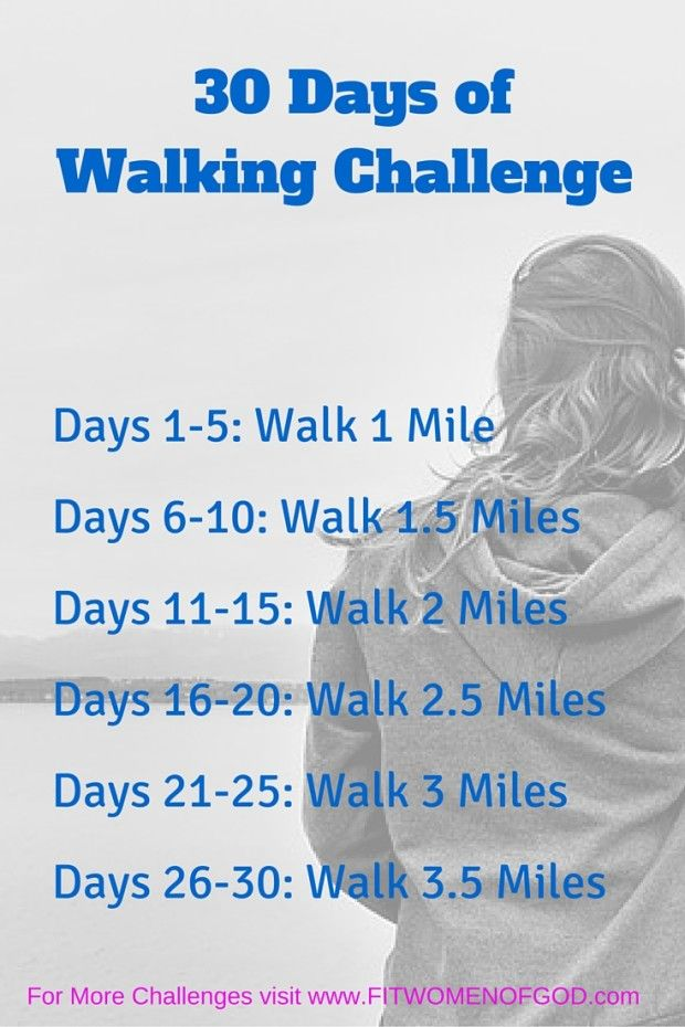 Free Walking Plan- April's challenge is the 30-day Walking Challenge. We have more challenges and workouts on our website.